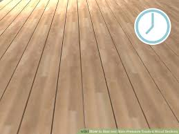 image titled seal and stain pressure treated wood decking step 2