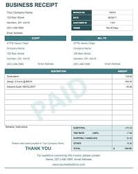 printable receipts free 13 free business receipt templates smartsheet