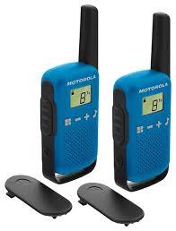 Купить <b>Рация Motorola Talkabout T42</b> Twin Pack синий/черный по ...