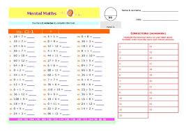 C1 Mental Math | TeacherLingo.comC1 Mental Math