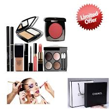 9in1 make up set box paper bag free cosmetic bag best gift