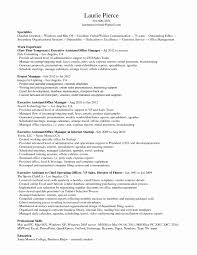 Administrative Assistant Resume Objective Examples Unique Fice