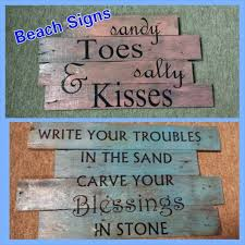 Outdoor Beach Signs And Decor
