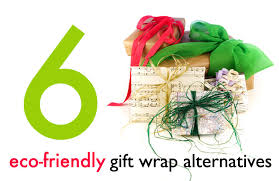 eco alternatives to holiday wrapping paper