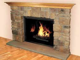 popular stone hearth fireplace ideas home design gallery