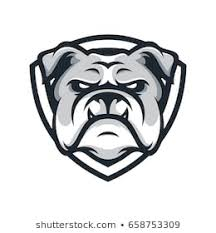 friendly bulldog mascot clipart. Brilliant Mascot Bulldog Wild Animal Head Mascot Logo Illustration Vector Intended Friendly Mascot Clipart