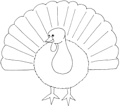 Printable Free Thanksgiving Turkey Colouring Pages
