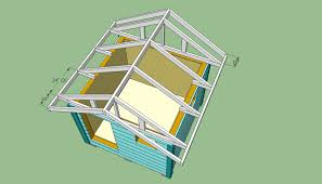 building the roof of the wooden playhouse jpg  play house plans