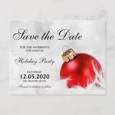 Christmas Party Save The Date Templates Christmas Party Save The Date Templates