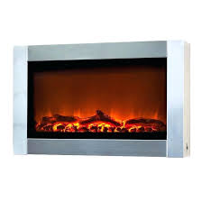 stainless steel electric fireplace stainless steel electric fireplace in wall mount no heat electric fireplace northwest