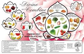 Correct Food Combining Chart Food Combining Chart Front 1 Discovering The Healer Within