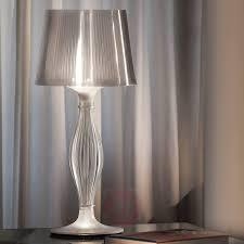 stylish liza designer table lamp pewter 8503320 01