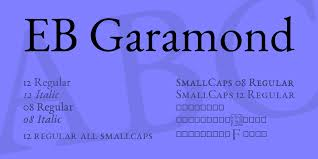 Download Garamond Eb Garamond Font Download For Web Or Photoshop