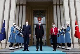 EU leaders make rare Turkey visit to mend ties - Chinadaily.com.cn