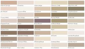 Color Chart Beige Www Bedowntowndaytona Com