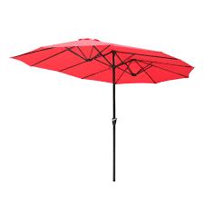4 5m extra large round garden parasol