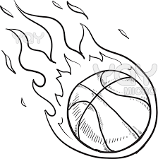 Small Picture Basketball Coloring Page Pages Education Pinterest Clip art