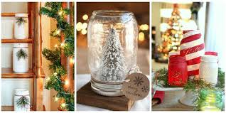 How To Decorate A Jar 60 Mason Jar Christmas Crafts Fun DIY Holiday Craft Projects 56