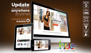 gym website design activity website design ideas hue marketing