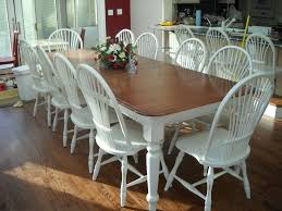 refinishing kitchen table and chair white