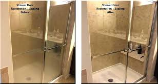 best cleaner for glass shower doors ing cleaning with vinegar and dawn