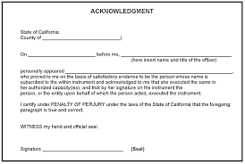 Notary Signature Line Template 32 Notarized Letter Templates Pdf