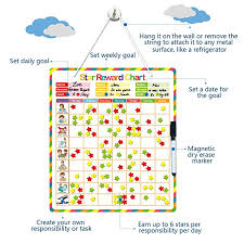 Make Your Own Responsibility Chart Blueprint Mart Chore Chart Behavior Chart Responsibility Chart Reward Chart Magnetic Reward System Accommodate Up To 3 Kids