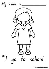 Igotoschoolworksheetsgirl frog spot january 2013 on 2 week notice email template