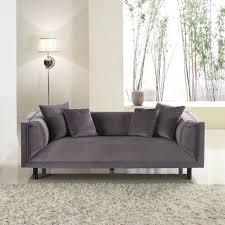 Furniture: Velvet Chesterfield Sofa - Furniture