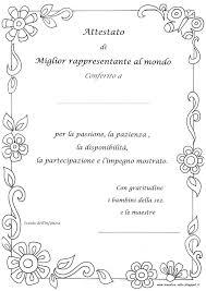 Mejor Diploma Scuola Infanzia Da Colorare Para Colorear Online The