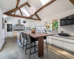 rustic white kitchen ideas. Brilliant White This Is An Example Of A Large Rustic Kitchen In Other With Flatpanel  Cabinets For Rustic White Kitchen Ideas B