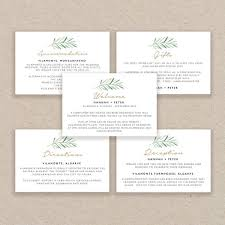 Wedding Enclosure Card Template Enclosure Cards Template Wedding Detail Cards Accommodation Etsy
