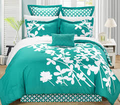 turquoise comforter set king. Beautiful King Amazoncom Iris 11Piece Comforter Set Queen Size Turquoise Sheet Set  Bedskirt Four Shams And Decorative Pillow Included Home U0026 Kitchen Inside Turquoise King 2