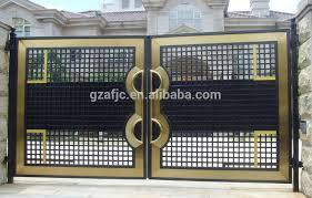 metal fence gate designs. Steel Fence Gate,metal Gate For Yard, Copper Color Strong Yard Gate, Metal Designs