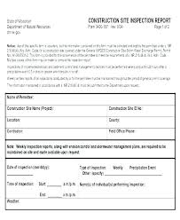 Site Safety Inspection Template Workplace Safety Inspection Forms