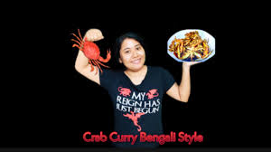 Food Vlog# Crab Curry Recipe Bengali ...
