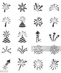 60点の花火のイラスト素材クリップアート素材マンガ素材アイコン