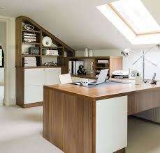 home study furniture. This Spacious Loft Home Office Boasts Two Desk Areas And Provides A Light, Airy Comfortable Place To Work. Study Furniture