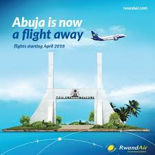 Image result for rwandair from abuja to kigali