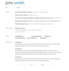 Free Simple Resume Template Best How To Download Resume Templates In Microsoft Word For Free Template
