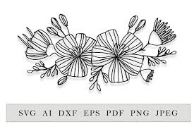 Useful for copying and pasting into your html (webfont with css or svg with js). Cricut Daisy Flower Svg