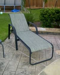 outdoor patio furniture fabric sling