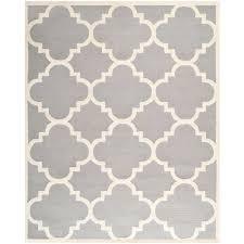 safavieh cambridge silver ivory 8 ft x 10 ft area rug