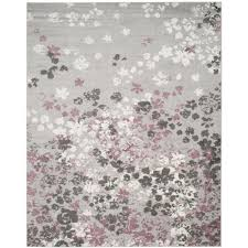 safavieh adirondack light grey purple 8 ft x 10 ft area rug