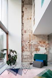 Rotterdam House with Exposed Brick Walls and Industrial Lighting 1  industrial lighting Rotterdam House with Exposed