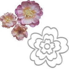 Paper Flower Cutting Tools Flower Metal Cutting Dies Stencils Diy Scrapbooking Die Cuts Album