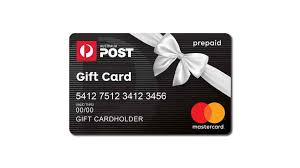 australia post gift card by mastercard