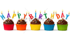 Happy Birthday Cupcakes Png Image With Transparent Background Toppng