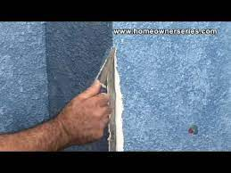 how to fix a wall repairing corner
