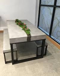 Living Concrete Table Set